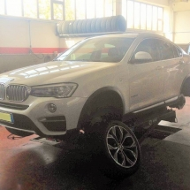 cambio gomme bmw x4