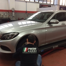 cambio gomme mercedes c220